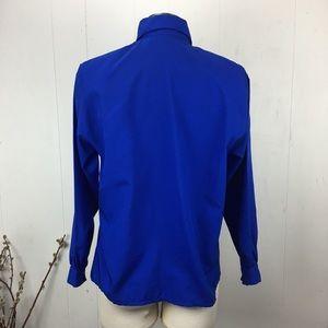 Diane Von Furstenberg Tops - Vintage Royal Blue Diane Von Furstenberg Blouse